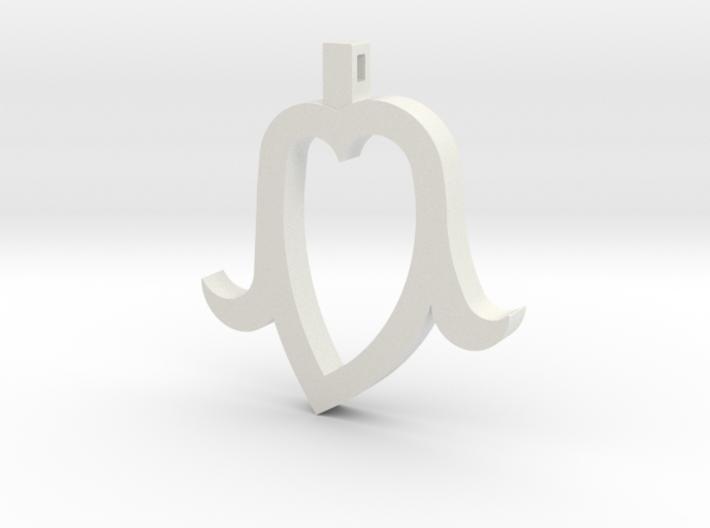 Heart Head mini 3d printed