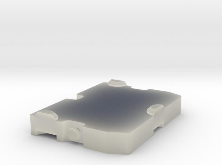 Ballastplatte Raupenkran 3d printed