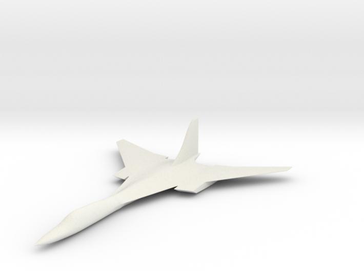 Tu 230, large 3d printed