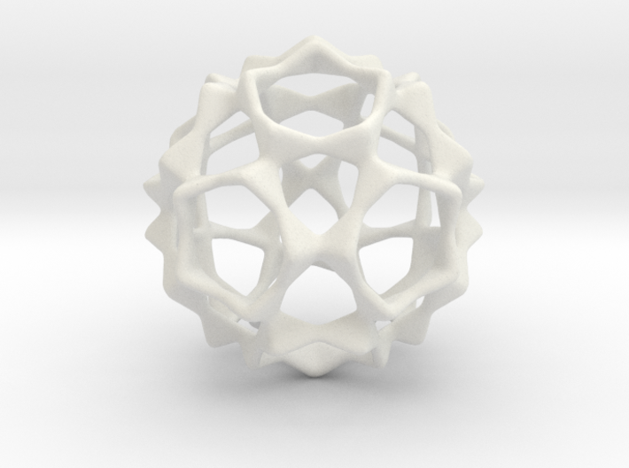 Opening Star 3d printed