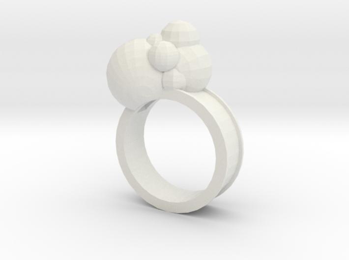 bubbles biger 3d printed