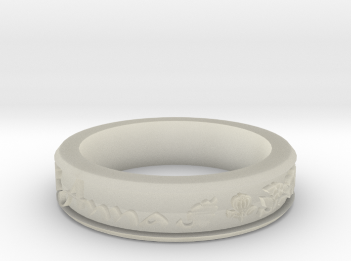 Anna Ring 3d printed