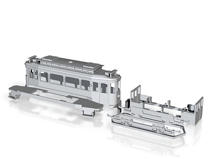 Brandenburg großer Lindner Triebwagen 3d printed
