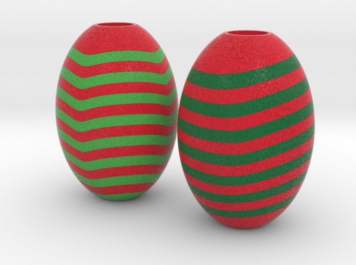 DRAW HC ornaments - machinable E 3d printed