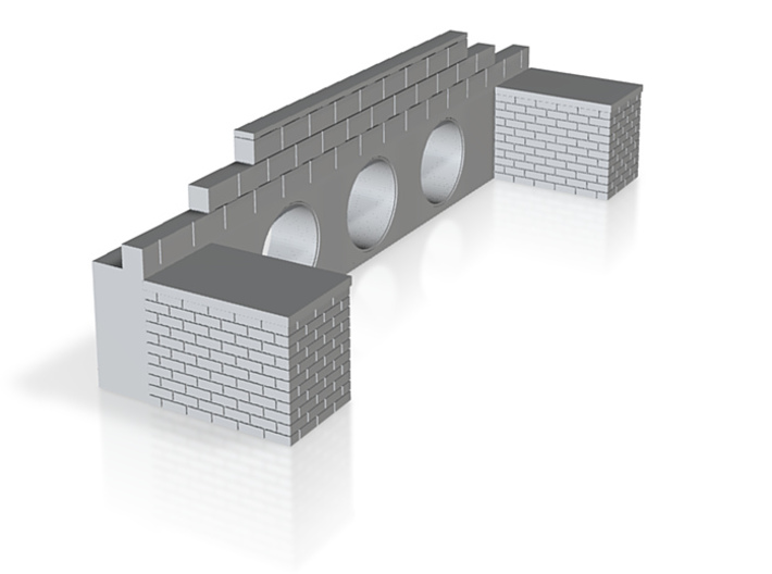 Brick Culvert 01 7mm scale 3d printed