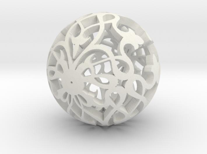 Moroccan Ball 7.2 3d printed