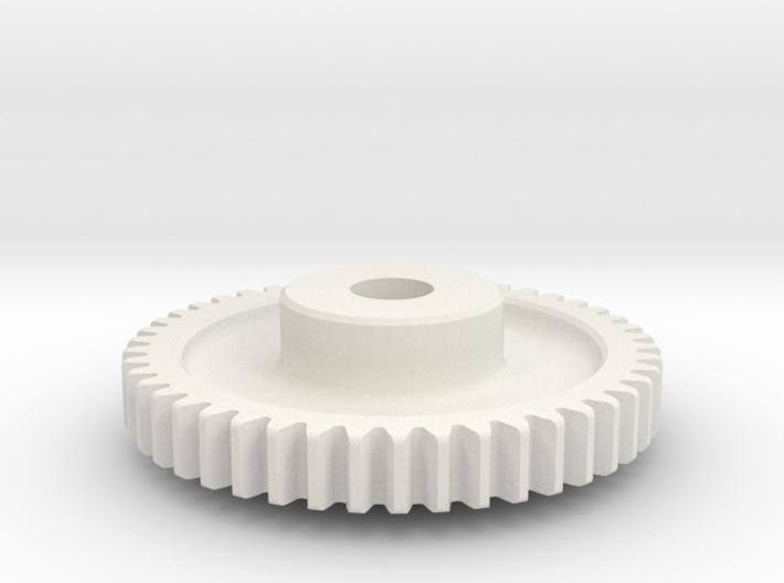 Mod 0.8 x 46T x 5w x 8 hub 3d printed