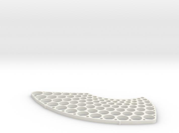 Metric Hole Test Pattern 3d printed