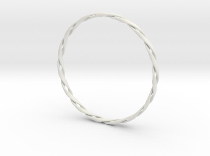 Twist Bangle 3d printed
