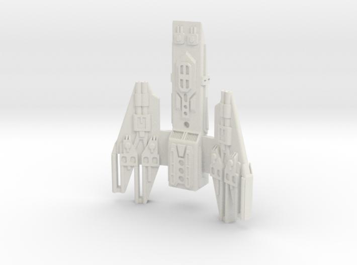 stealth frigate 3d printed