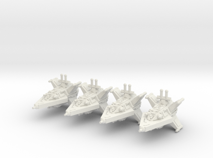 VA104A Turbulent Sky Destroyer (x4) 3d printed