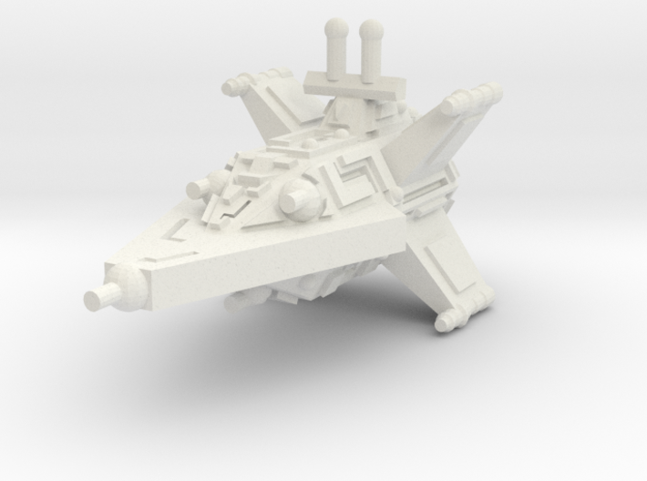 VA104 Turbulent Sky Destroyer 3d printed
