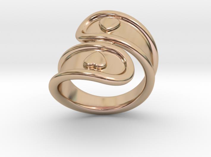 San Valentino Ring 16 - Italian Size 16 3d printed
