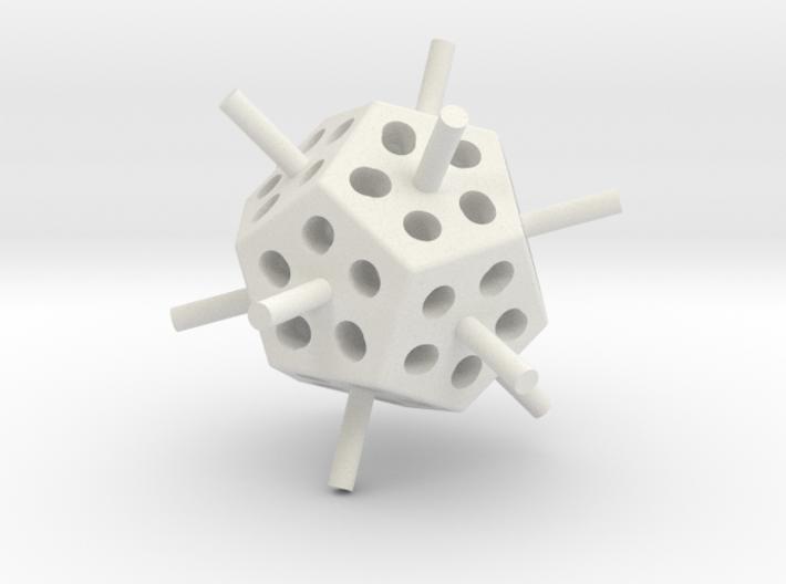 Mini Megaminx core (Print 1) 3d printed