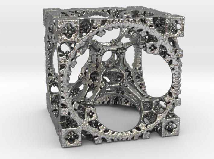 Aztech Cube Pendant 3d printed