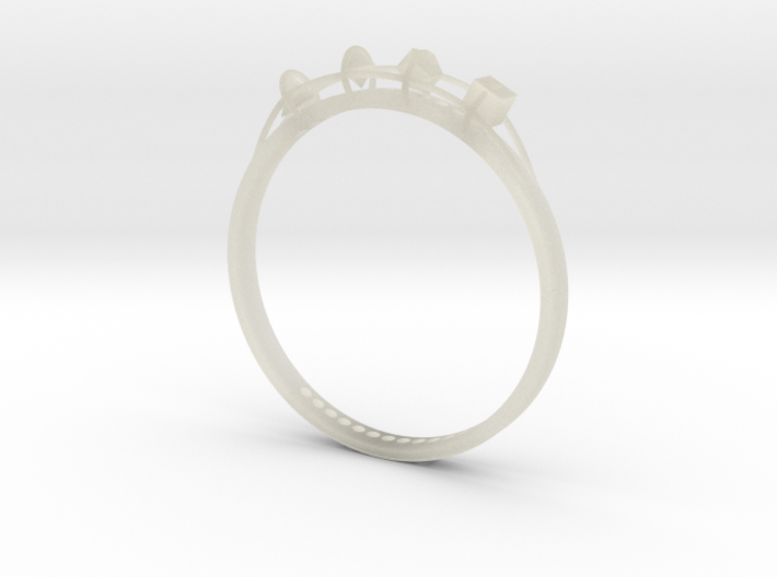 ring of the for elements 3d printed