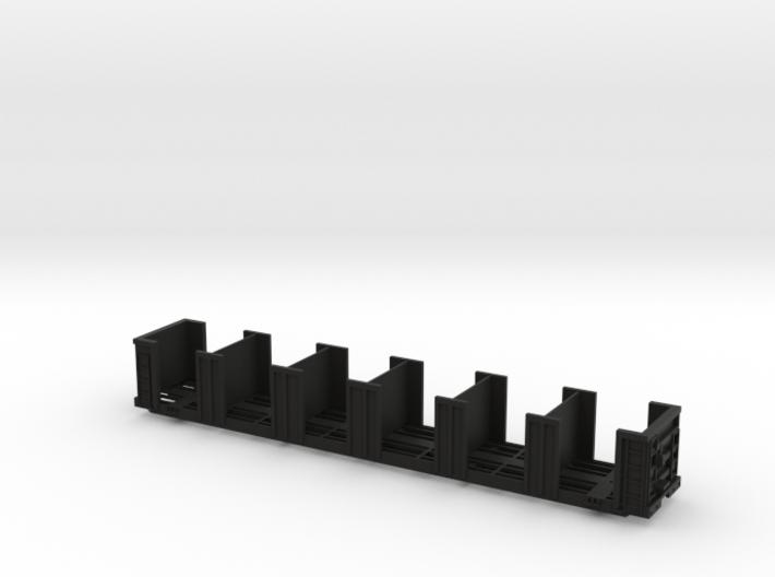 120652 tie bulkhead flatcar 3d printed