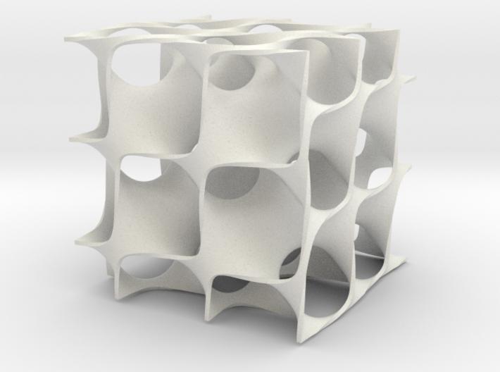 Diamand surface 3d printed