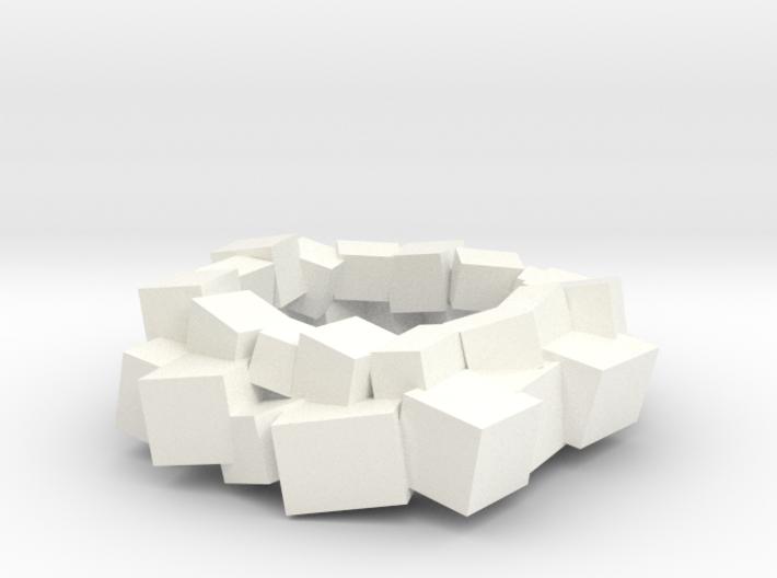 Lewitt pendant large 3d printed