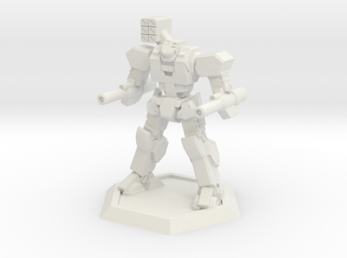 Mecha- Axe (1/500th) 3d printed