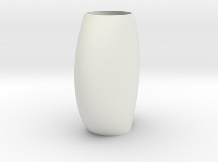 flat vaze  3d printed