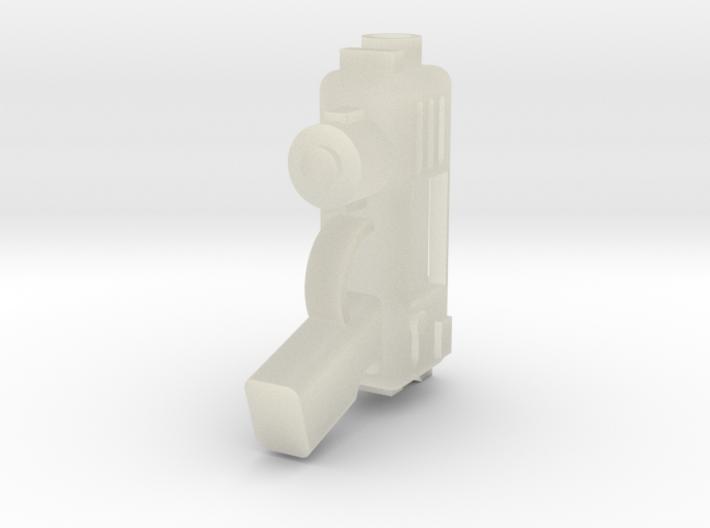 Plasma Pistol 3d printed