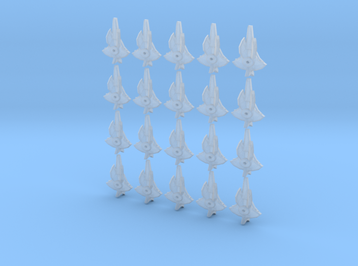 viperray fleet scale 3d printed
