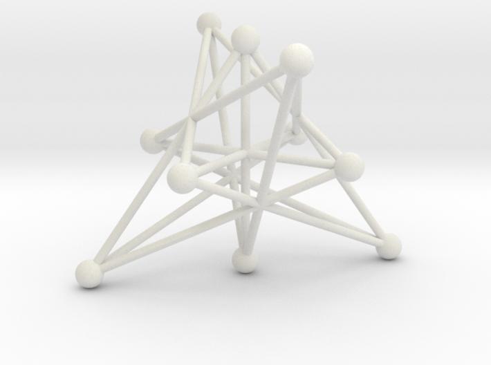 004: Petersen graph 3d printed