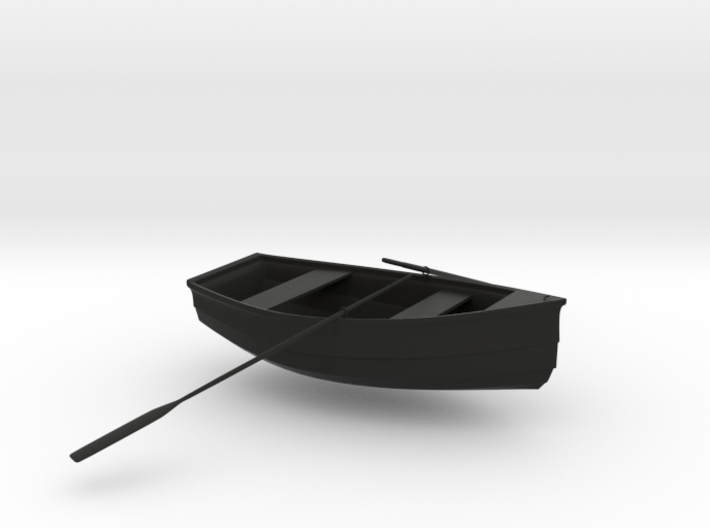 rowboat scaled 3d printed