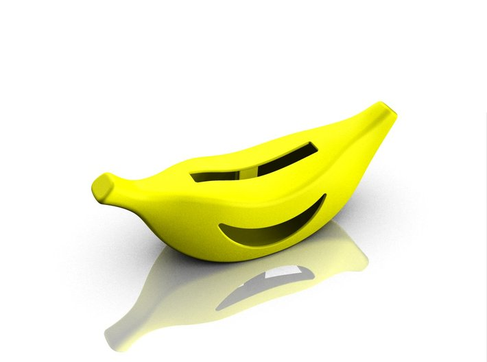 Banana cradle for iPhone 5s 3d printed