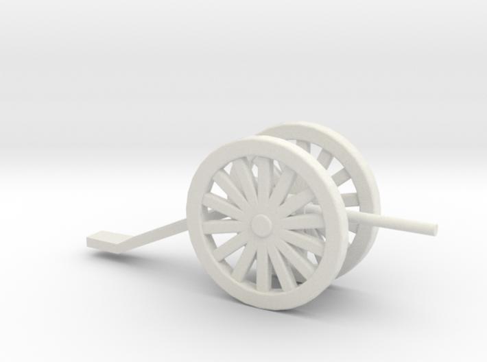 Artillery Game Piece 3d printed