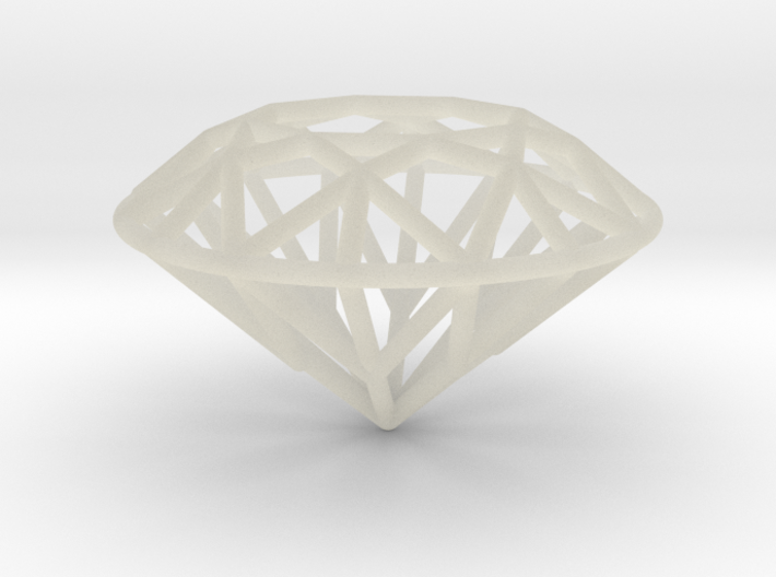 Diamond small 3d printed
