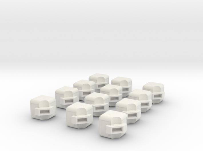 Rubik's Cube Edges 3d printed