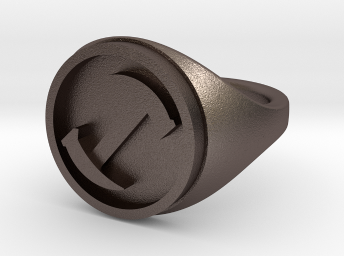 Simpsons Stonecutters ring size 11 3d printed