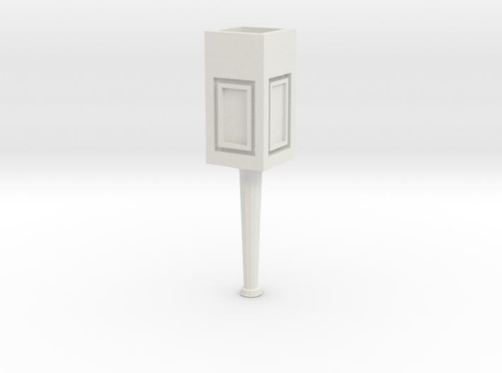 Concrete light post 1/32 3d printed