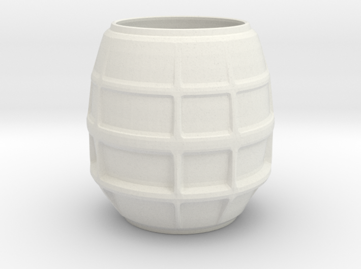 Glass lampshade 3d printed