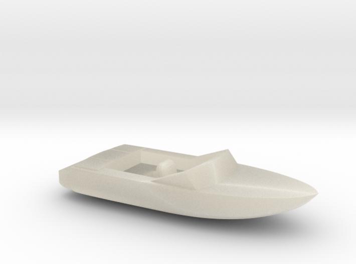 Pleasure Boat - Z scale 3d printed