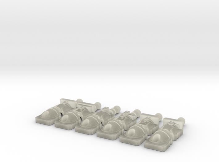 Deluxe Constructicon head set mk1 3d printed