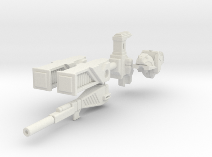 Roadbuster (CDRA) assembley mk1 3d printed