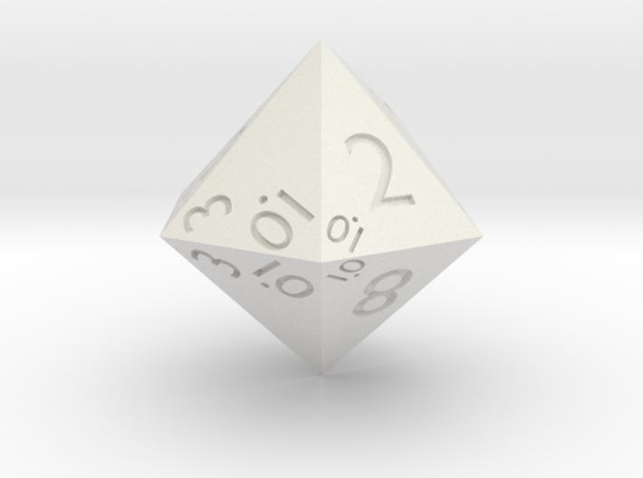Sphericon-based d12 3d printed