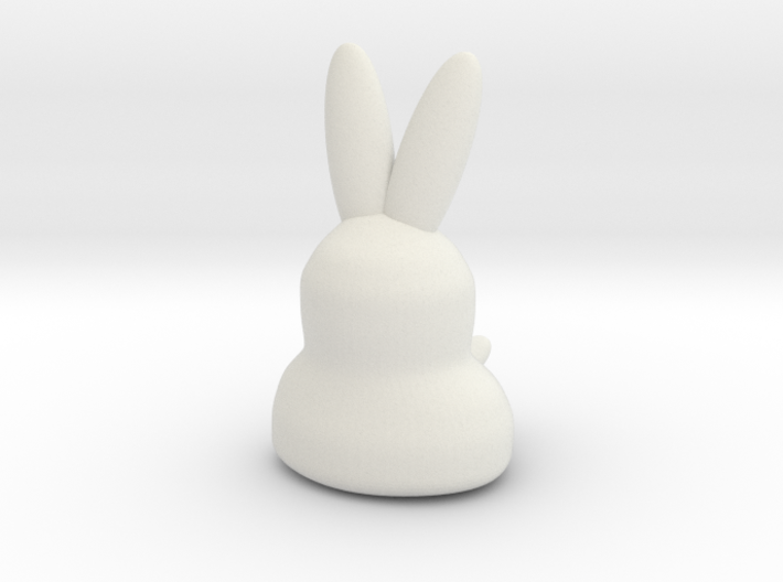Coniglietto Hilly 3d printed