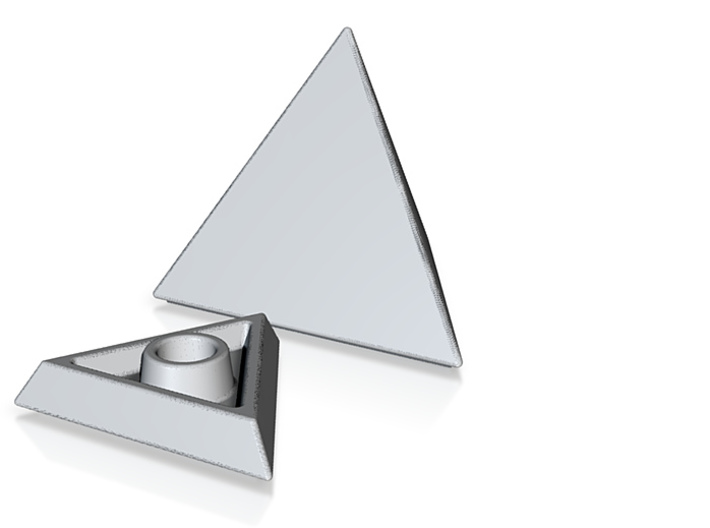Pyramid Candle Stick 3d printed