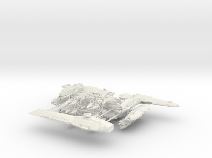 USF Fleet with Turning Tools 3d printed