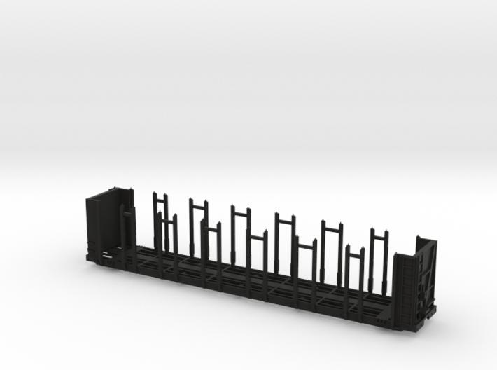 120651 Pulpwood Flatcar TT Scale body 3d printed