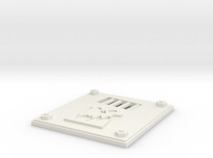 Rhino Door Mrk 1 slim 3d printed