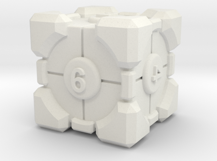 Companion dice 3d printed