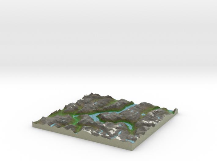 Terrafab generated model Tue Nov 19 2013 15:18:47 3d printed