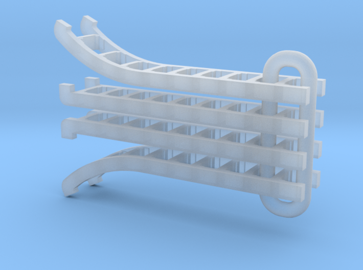 UP Water Tender Ladders (2007-Present) 3d printed