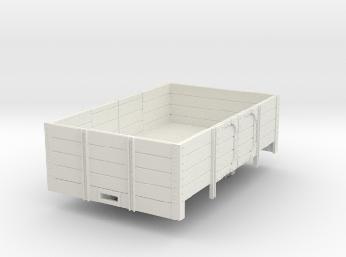 Oe short open wagon 3d printed