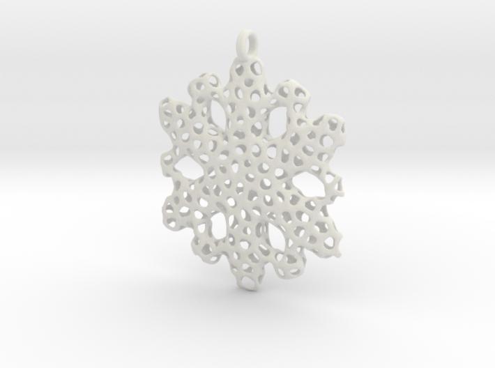 Snowflake Ornament - La Mer 3d printed